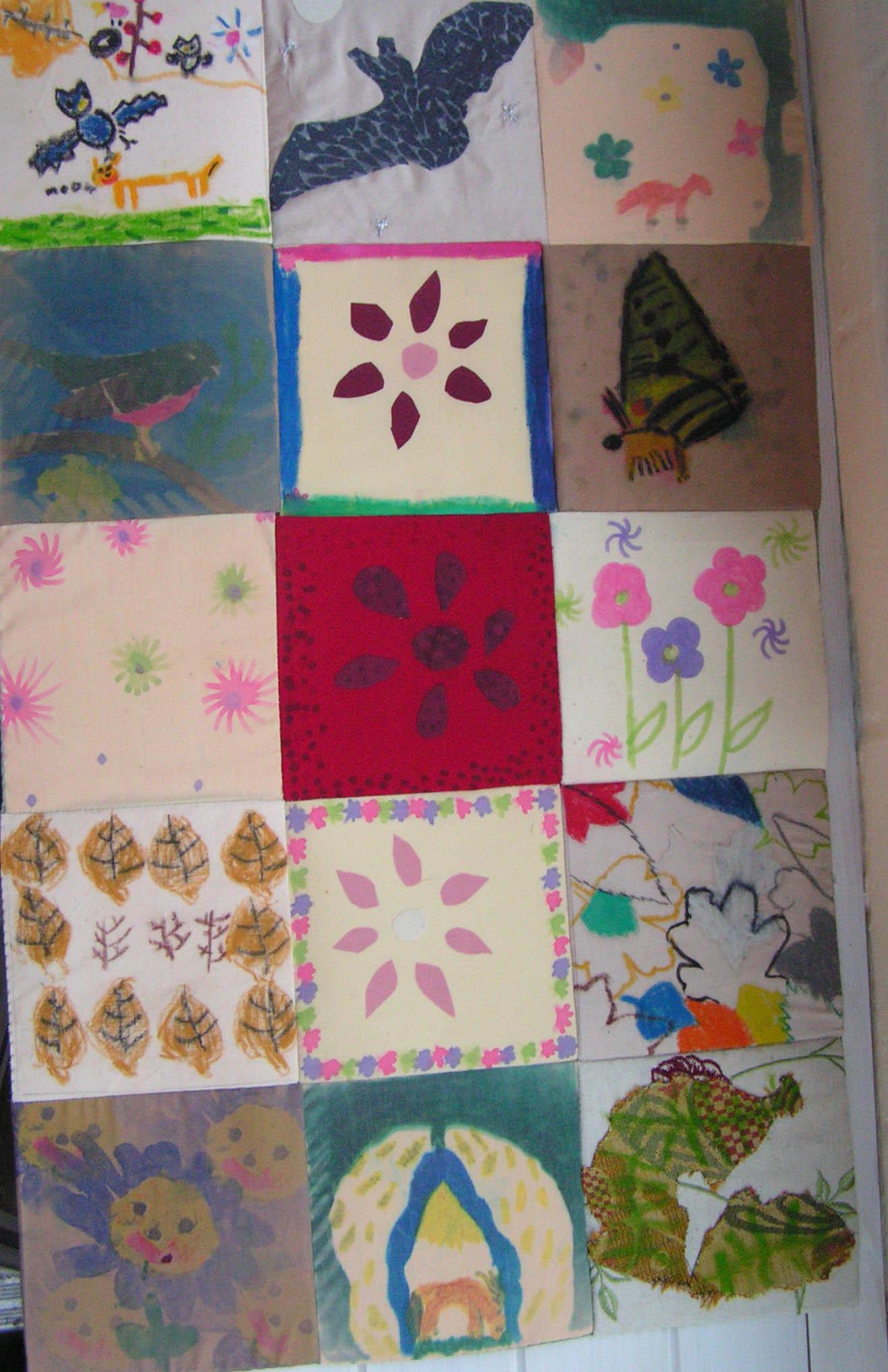 Woodland patchwork