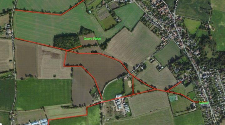 footpath map
